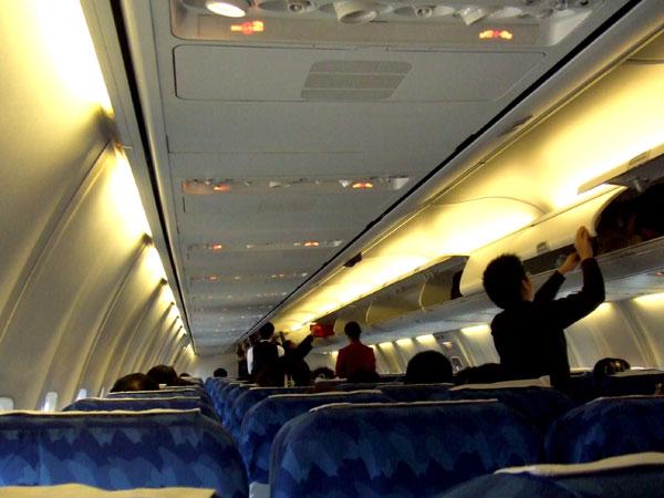 波音737-700飞机座位的舒适度还不如